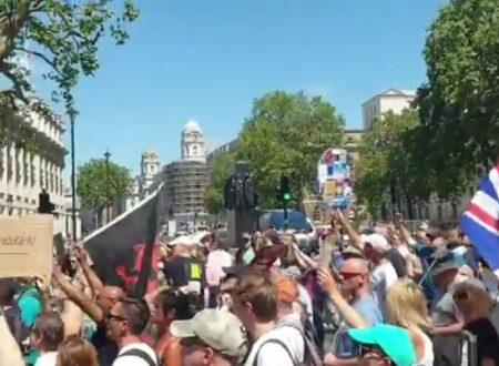 INGHILTERRA: PROTESTA OGGI 14 GIUGNO CONTRO IL PROLUNGAMENTO DELLE RESTRIZIONI