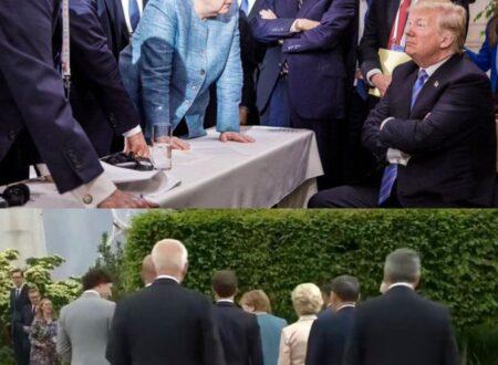 G7 CON TRUMP E G7 SENZA TRUMP: IL LEADER