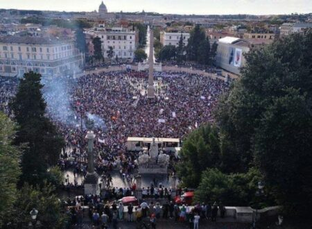 MANIFESTAZIONE ROMA: 9 OTTOBRE 2021